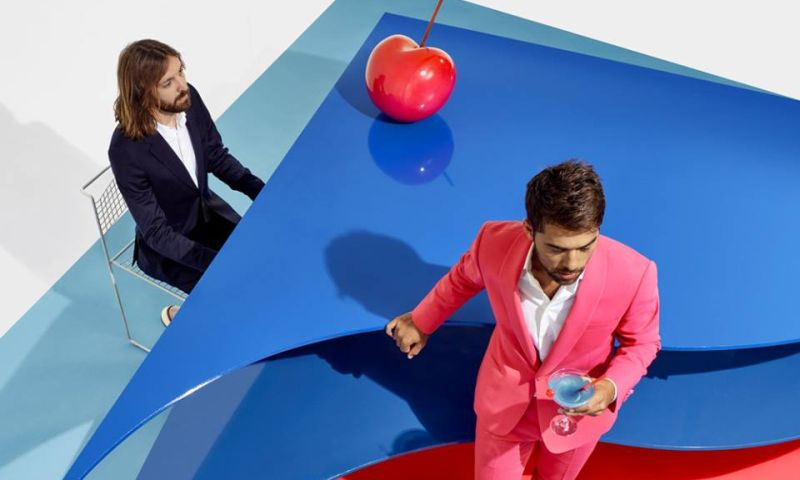 Breakbot and Irfane Still Waters album cover alternative